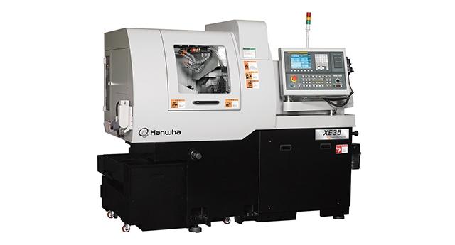 Hanwha XE35 Sliding Head CNC Lathe