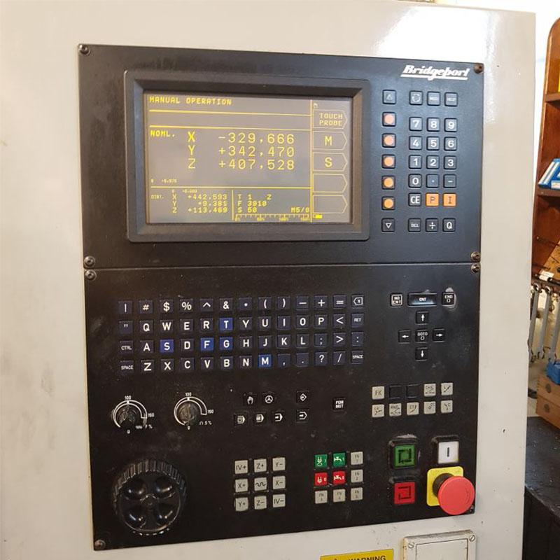 U28216-2 used Bridgeport VMC