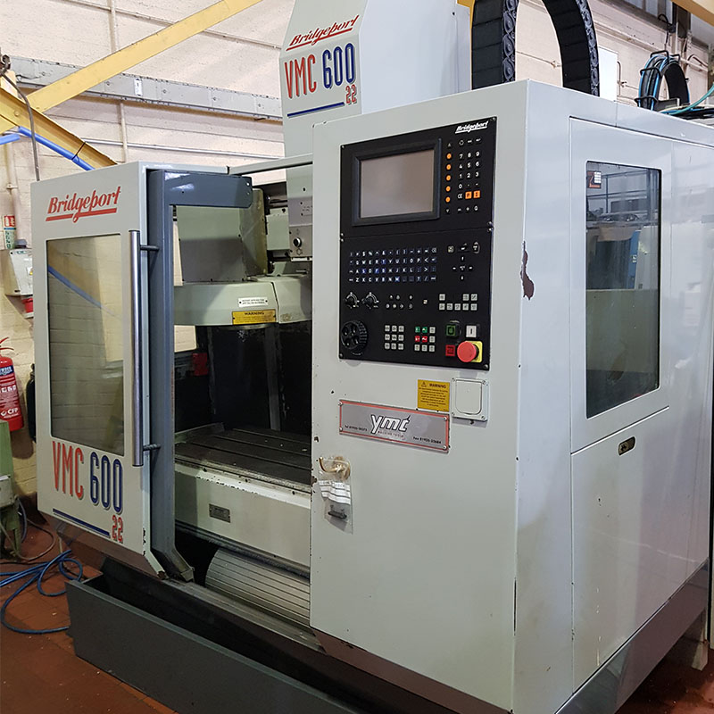 U28216-7 used Bridgeport VMC