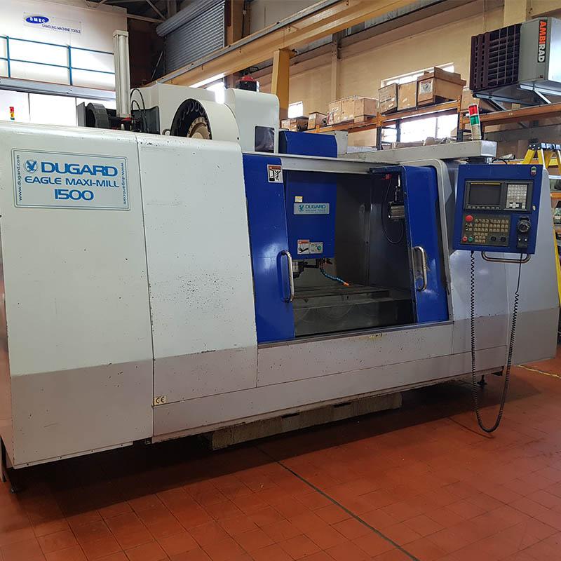 U28255 used Dugard 1500 maxi mill VMC