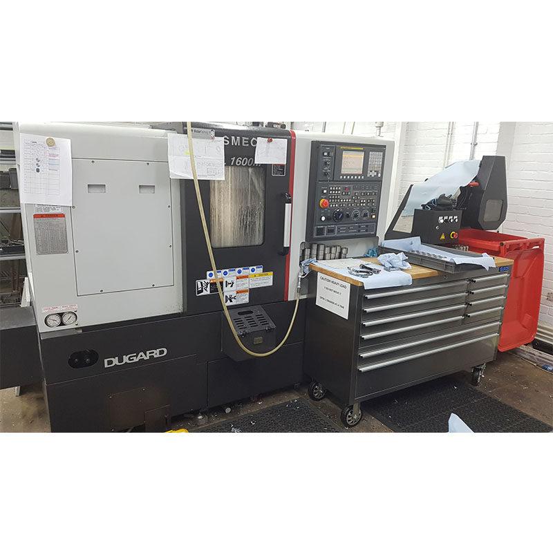 Used SMEC PL1600M slant bed CNC lathe