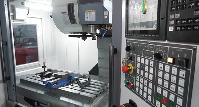 Table on the Dugard 1000 VMC at DGF Engineering