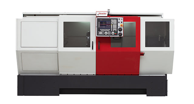 Pinacho ST range of high precision flatbed CNC lathes