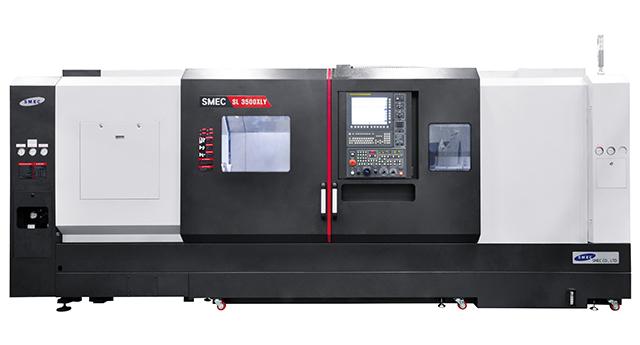 SMEC SL3500 BY CNC lathe